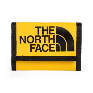 Portefeuille en nylon de marque The North Face jaune